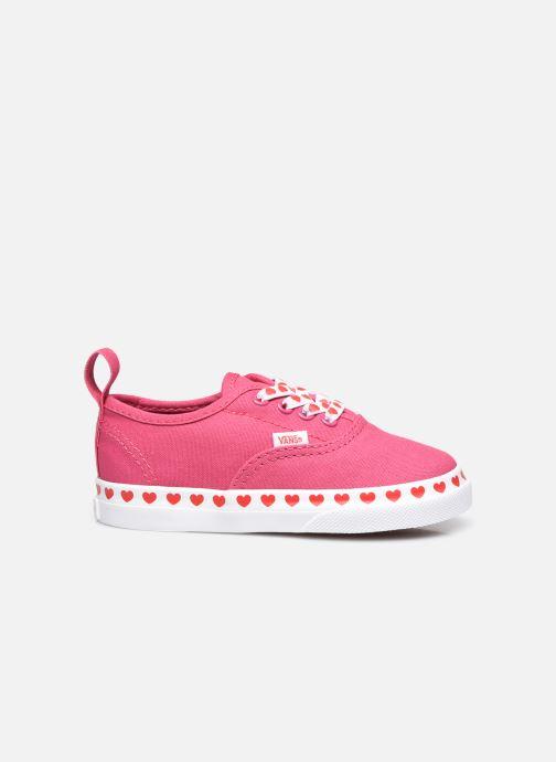 Sneaker Vans TD Authentic Elastic rosa ansicht von hinten