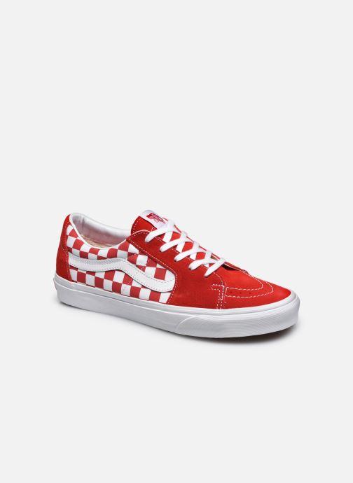 Baskets Vans UA SK8-Low M Rouge vue détail/paire