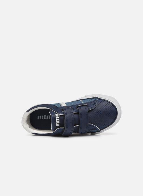 Sneakers MTNG 48185 Blauw links