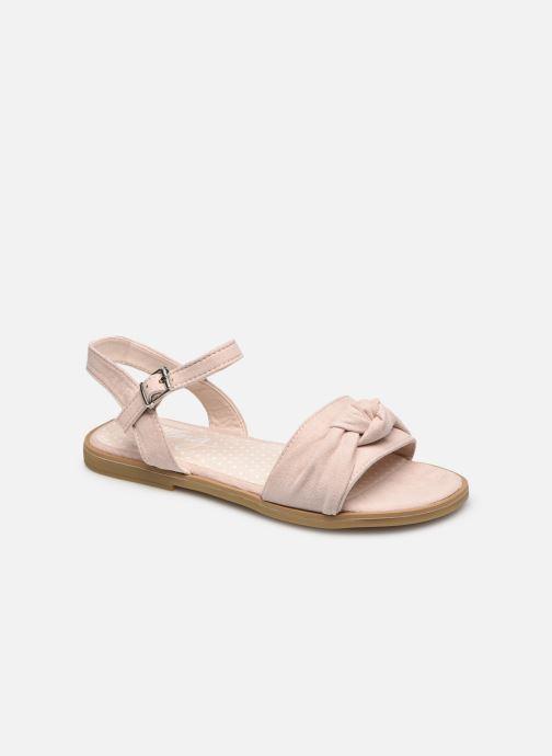 Sandales et nu-pieds MTNG 48279 Beige vue détail/paire