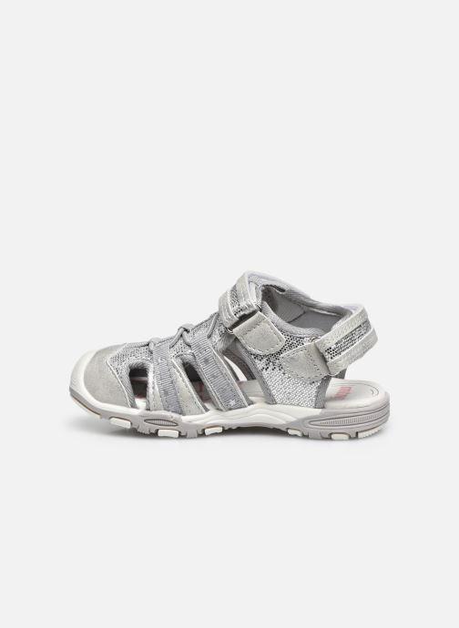 Sandali e scarpe aperte MTNG 48283 Argento immagine frontale