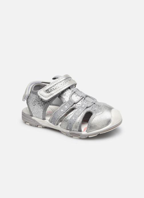 Sandales et nu-pieds MTNG 48283 Argent vue détail/paire