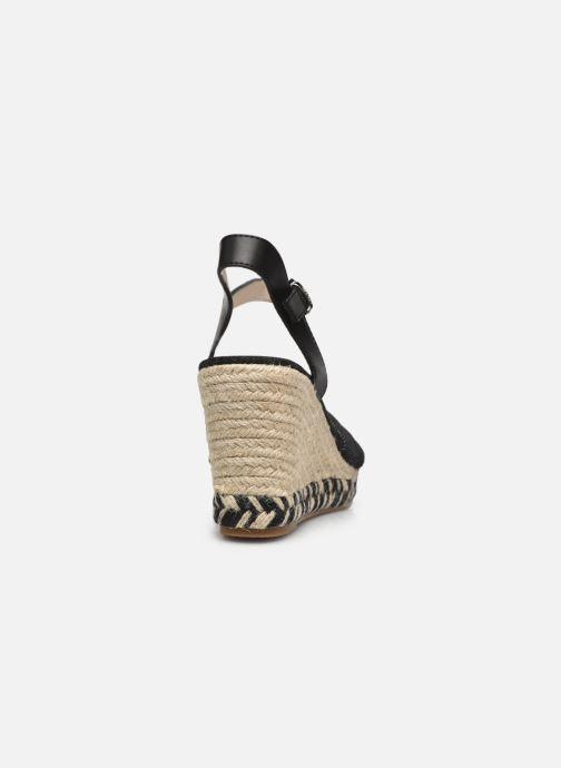 Sandalen MTNG 50415 Zwart rechts