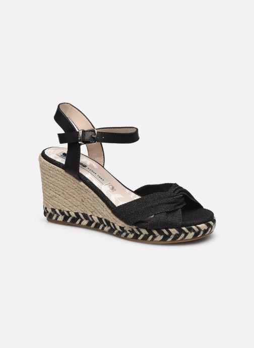 Sandalen MTNG 50415 Zwart detail