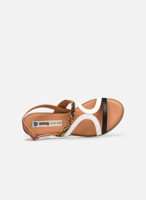Sandalen MTNG 50750 Bruin links