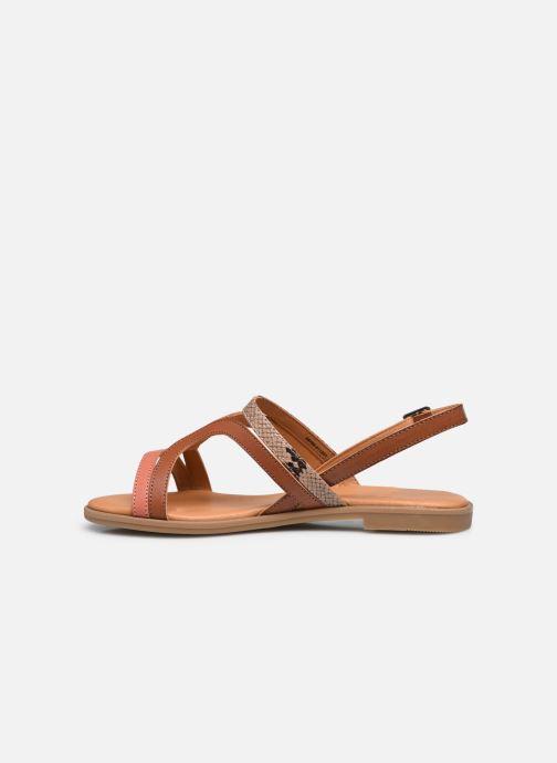 Sandali e scarpe aperte MTNG 50750 Marrone immagine frontale