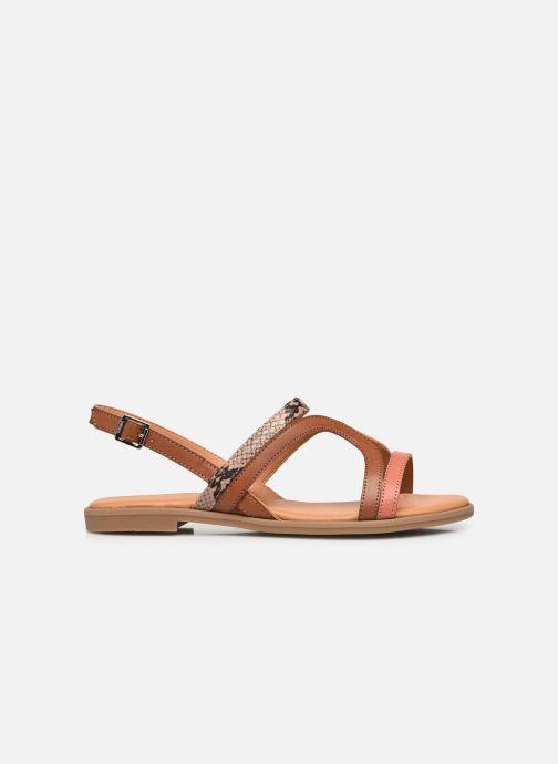 Sandali e scarpe aperte MTNG 50750 Marrone immagine posteriore