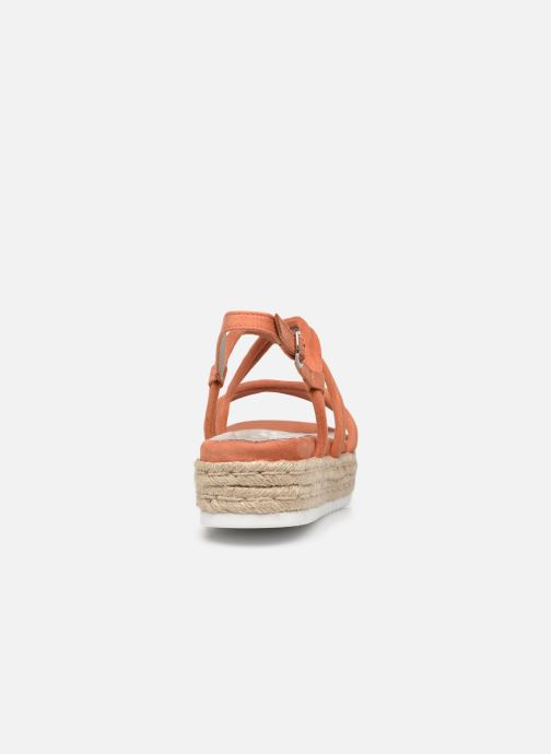 Sandali e scarpe aperte MTNG 50768 Arancione immagine destra