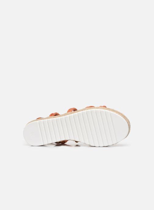 Sandali e scarpe aperte MTNG 50768 Arancione immagine dall'alto