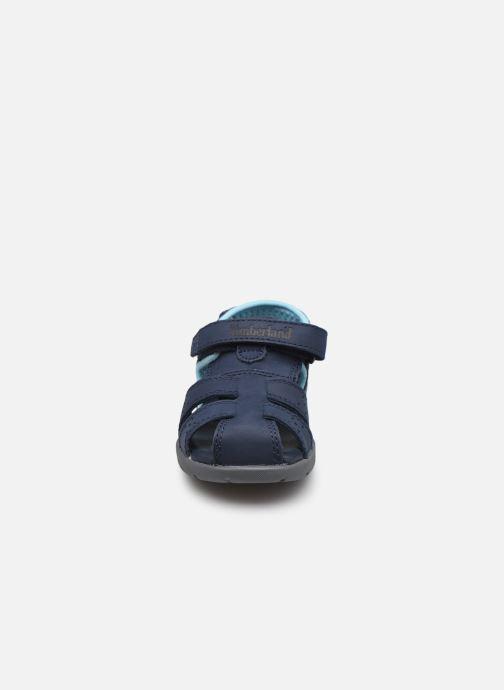 Sandalen Timberland NUBBLE LTHR FSHRMN-2 blau schuhe getragen