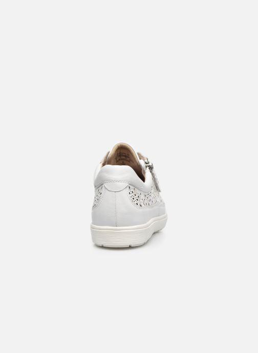 Sneakers Caprice FIGO Wit rechts