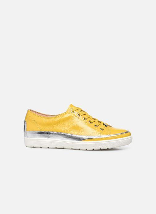 Sneakers Caprice ANDO Geel achterkant