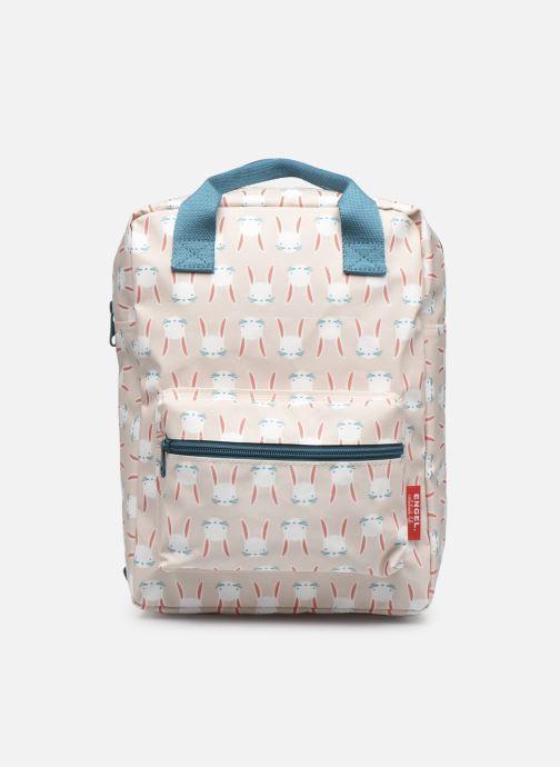 Schooltassen ENGEL. Backpack Medium 22x8x28cm Beige detail
