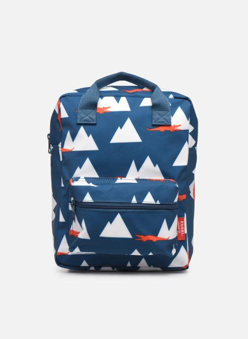 Schooltassen ENGEL. Backpack Medium 23x10x31cm Blauw detail