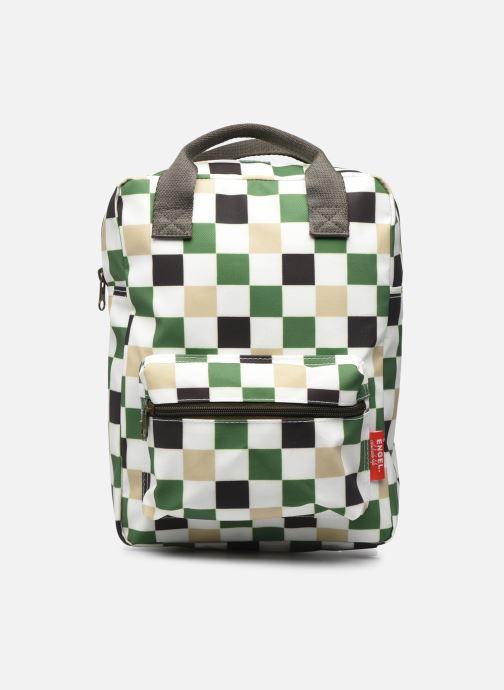 Schooltassen ENGEL. Backpack Medium 23x10x31cm Groen detail