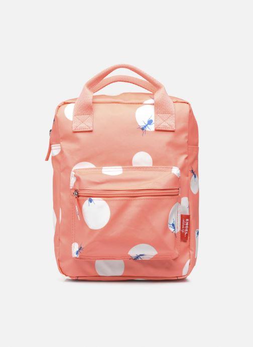 Schooltassen ENGEL. Backpack small 21x8x28 cm Rood detail