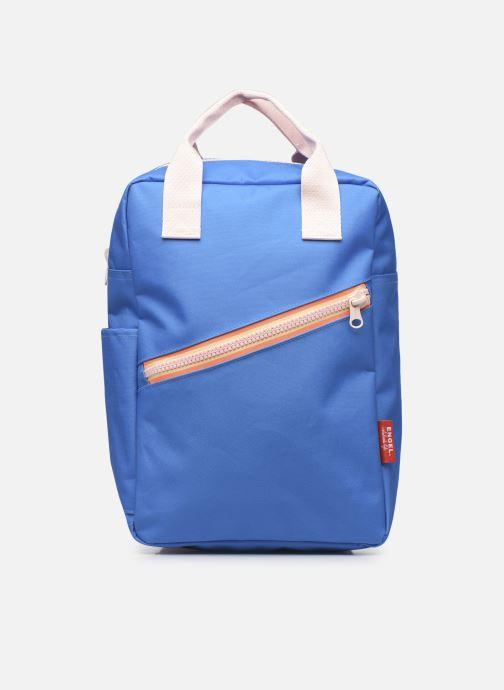 Schooltassen ENGEL. Backpack Large Zipper New 26x13x36 cm Blauw detail