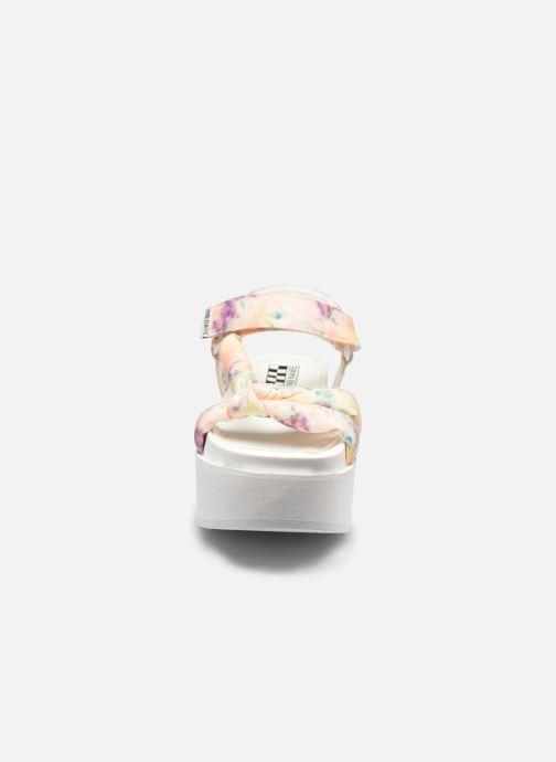 Sandali e scarpe aperte No Name POPPY SUNSET Bianco modello indossato