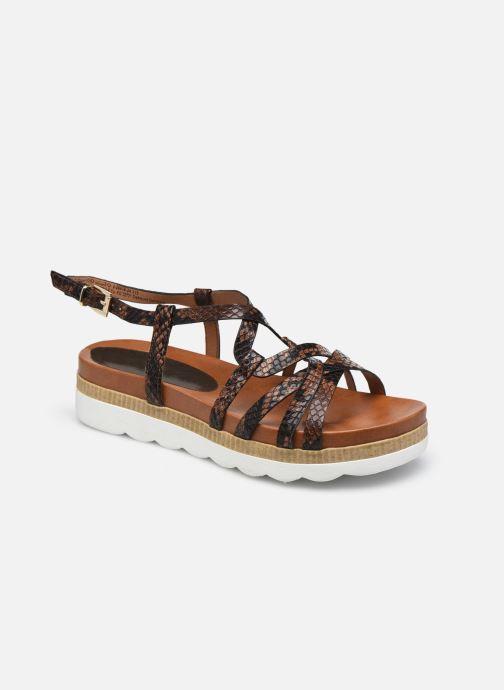 Sandales et nu-pieds Marco Tozzi ZOE Marron vue détail/paire
