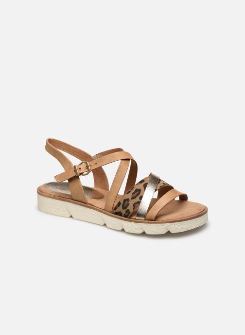 Sandales et nu-pieds Marco Tozzi VICA Beige vue détail/paire
