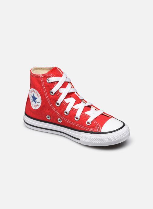 Baskets Converse Chuck Taylor All Star Core Hi E Rouge vue détail/paire