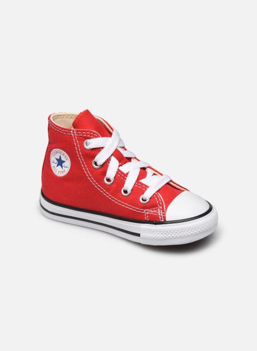 Sneaker Converse Chuck Taylor All Star Core Hi E rot detaillierte ansicht/modell