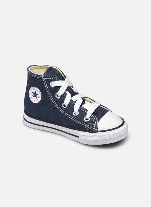 Baskets Converse Chuck Taylor All Star Core Hi E Bleu vue détail/paire