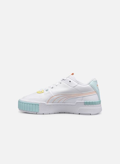 Sneakers Puma CALI SPORT PASTEL MIX Wit voorkant