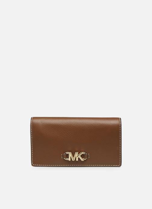 Portemonnaies & Clutches Michael Michael Kors IZZY LG SLIM WALLET braun detaillierte ansicht/modell
