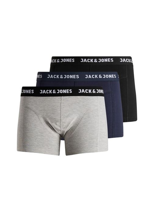 Vêtements Jack & Jones Jacanthony Trunks 3 Pack Multicolore vue détail/paire