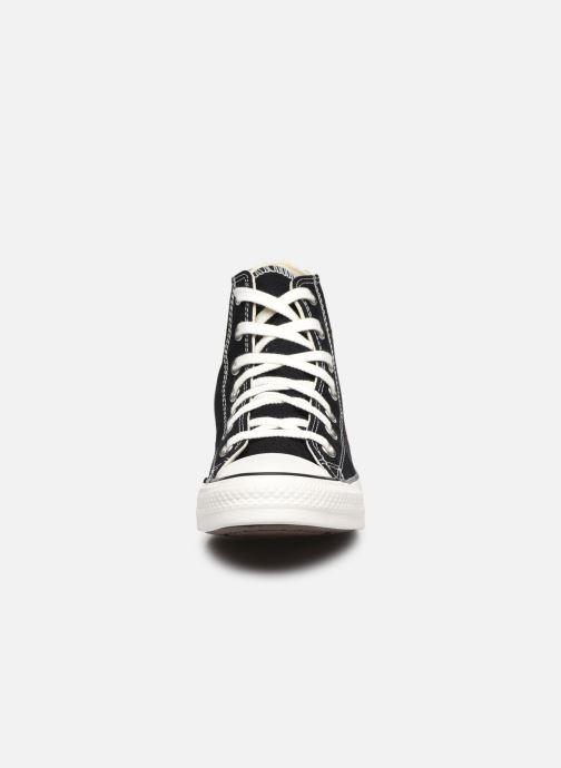 Sneaker Converse Chuck Taylor All Star It's Okay To Wander montante schwarz schuhe getragen