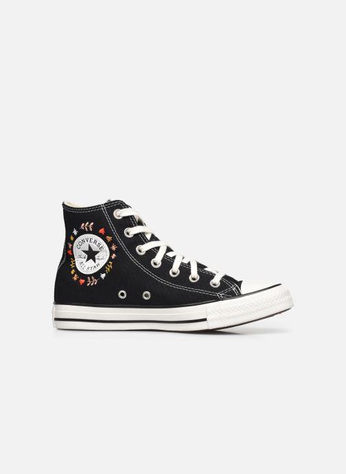 Sneaker Converse Chuck Taylor All Star It's Okay To Wander montante schwarz ansicht von hinten