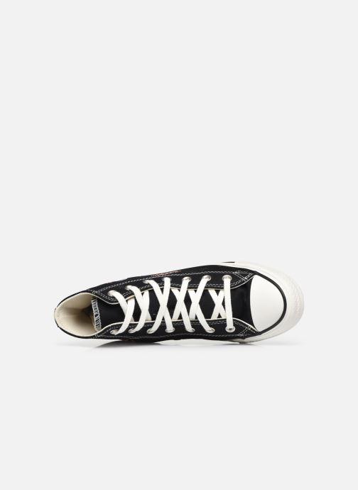 Sneaker Converse Chuck Taylor All Star It's Okay To Wander montante schwarz ansicht von links