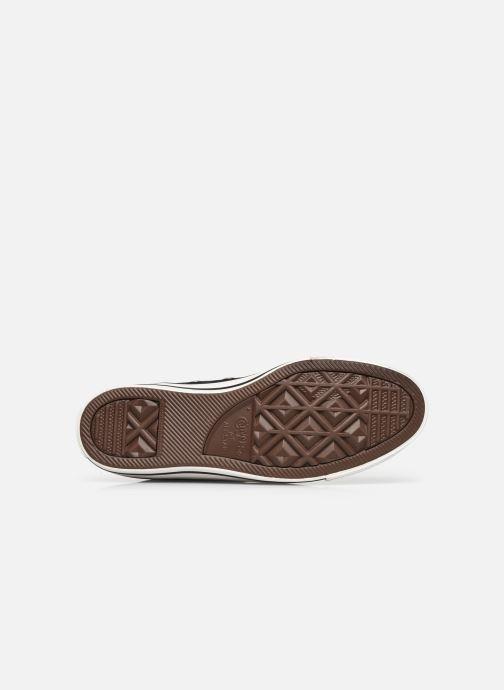 Sneaker Converse Chuck Taylor All Star It's Okay To Wander montante schwarz ansicht von oben