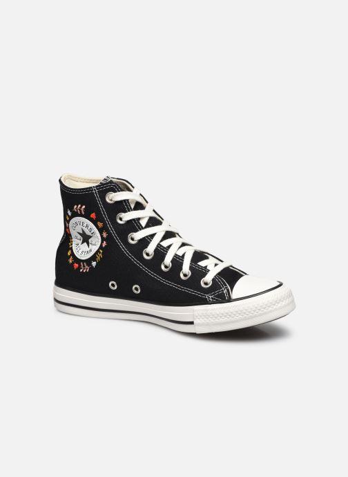 Sneaker Converse Chuck Taylor All Star It's Okay To Wander montante schwarz detaillierte ansicht/modell