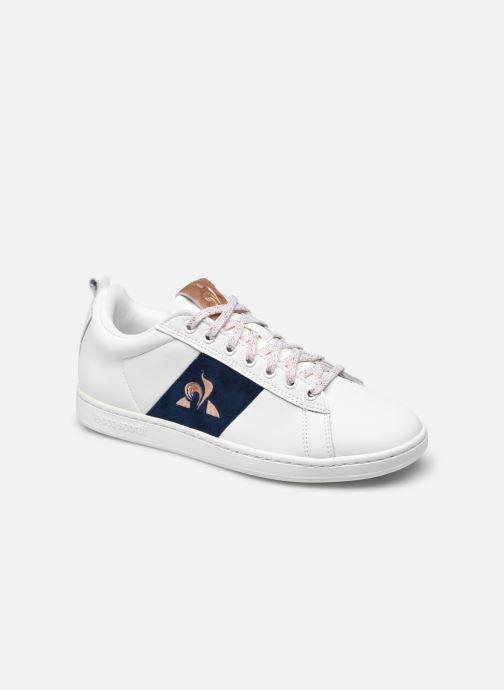 Sneaker Le Coq Sportif Courtclassic Velvet W weiß detaillierte ansicht/modell