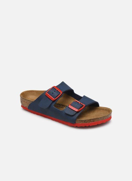 Sandales et nu-pieds Birkenstock ARIZONA Birko-Flor K Bleu vue détail/paire