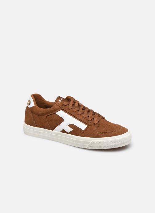 Sneaker Faguo WALNUT BASKETS SUEDE M braun detaillierte ansicht/modell