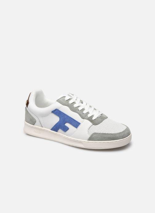 Sneaker Faguo HAZEL BASKETS LEATHER SUEDE M blau detaillierte ansicht/modell