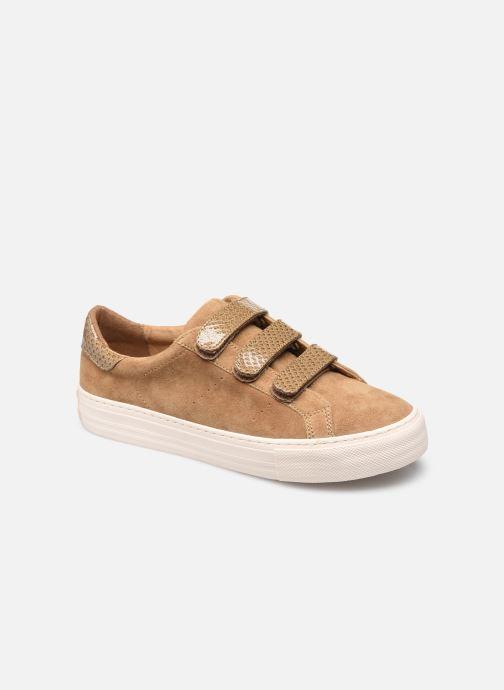 Sneakers No Name ARCADE STRAPS SUEDE Bruin detail
