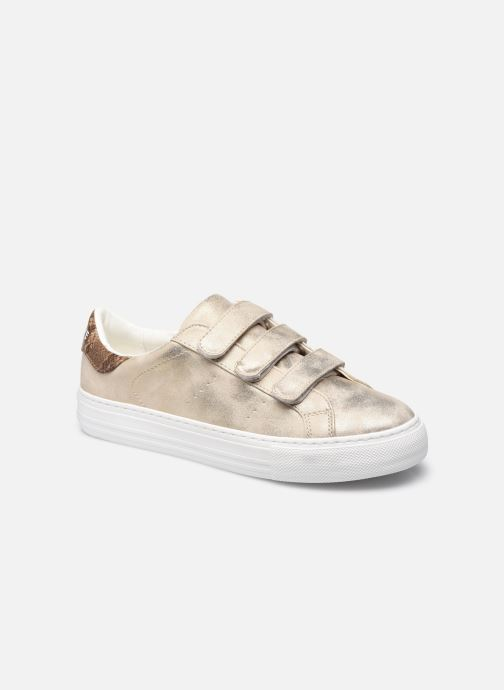 Sneakers No Name ARCADE STRAPS METALLISE Beige detail