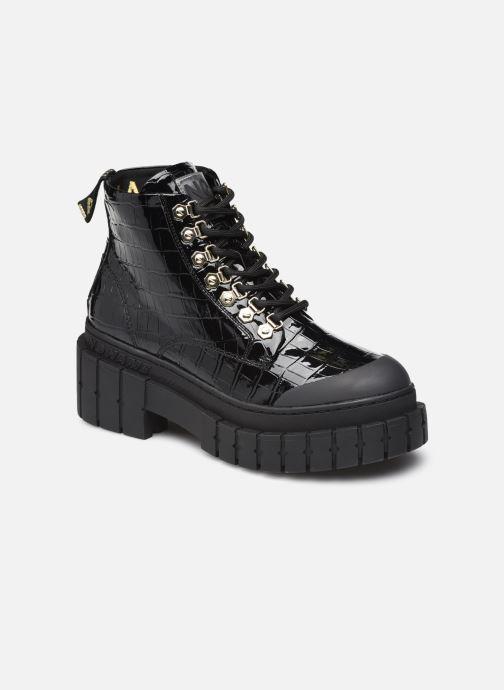 Stiefeletten & Boots No Name KROSS LOW BOOTS MIX schwarz detaillierte ansicht/modell