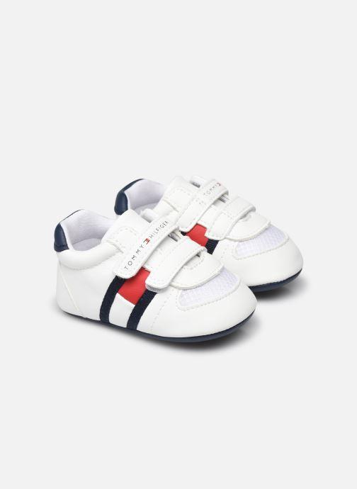 Baskets Tommy Hilfiger Velcro Shoe Blanc vue détail/paire