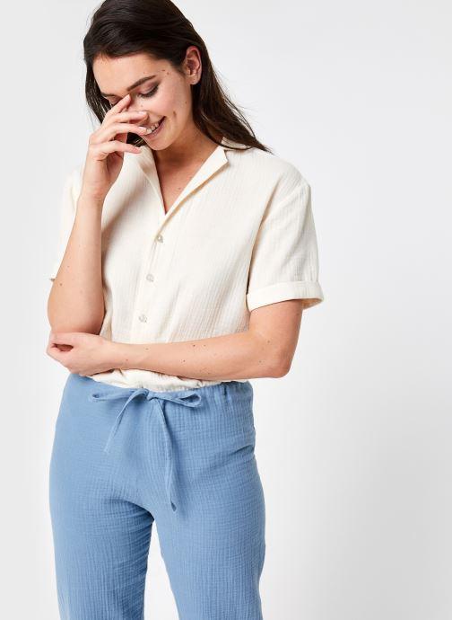 Vêtements Sarenza x Elise Chalmin Chemise Lea Blanc vue détail/paire
