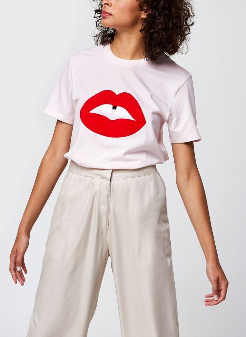 Kleding Accessoires T-Shirt Bouche Vanessa Rose