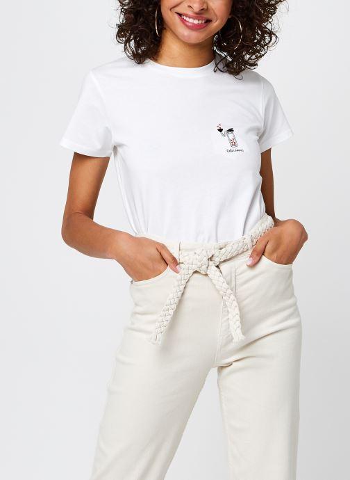 Kleding Accessoires T-Shirt Extincoeur Blanc