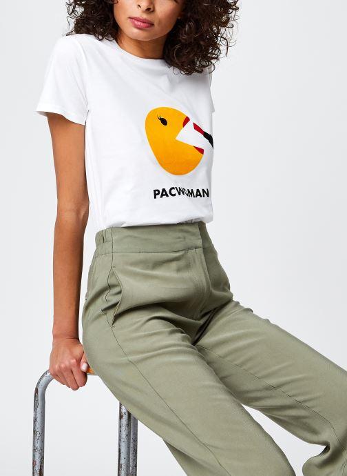 T-shirt Pacwoman Blanc