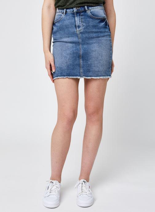 Kleding Pieces Pcaia Mw Dnm Skirt Lb111-Vi/Noos Bc Blauw detail