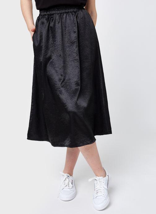 Vêtements Pieces Pccanni Hw Skirt D2D Jit Noir vue détail/paire