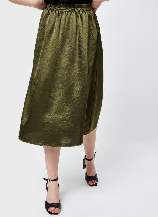 Vêtements Pieces Pccanni Hw Skirt D2D Jit Marron vue détail/paire